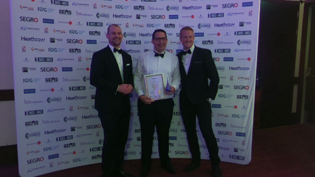 Cyberhive wins thames valley chamber of commerce best use of technology award at the annual business awards 2019