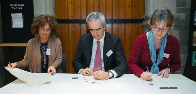 Signing the Memorandum of Understanding with University of Padua museums