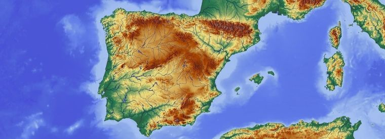 Centuries old population movements revealed in fine scale genetic map of the iberian peninsula