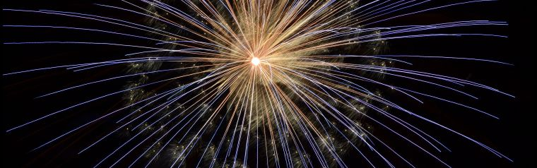 A firework representing innovation and ideas