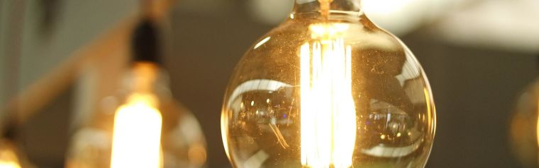 A lightbulb representing ideas