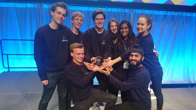 Oxford igem team wins gold medal for third year running