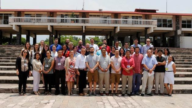 Genomics workshop group photo