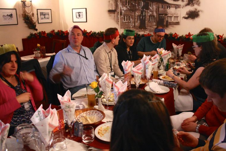 Oppermann Christmas party