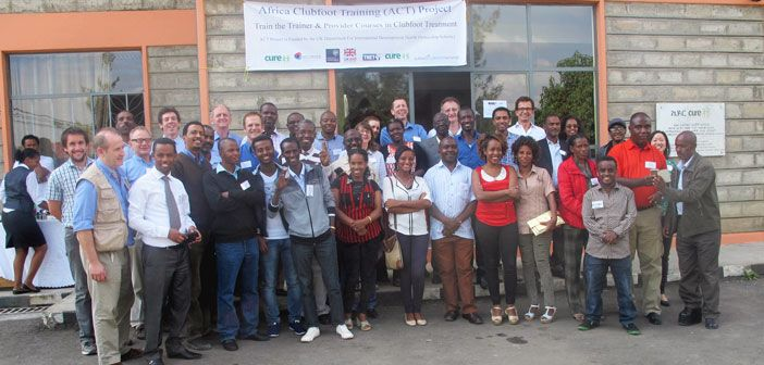 Course photo of UK faculty, regional trainers and basic provider course participants.