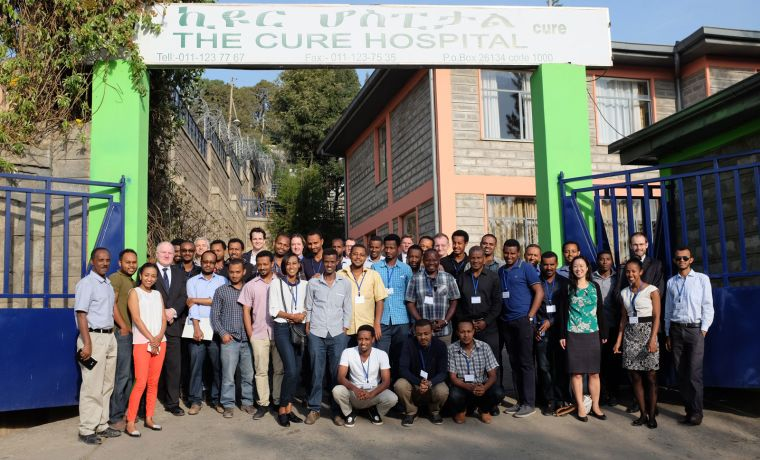 Children2019s orthopaedics training course in ethiopia