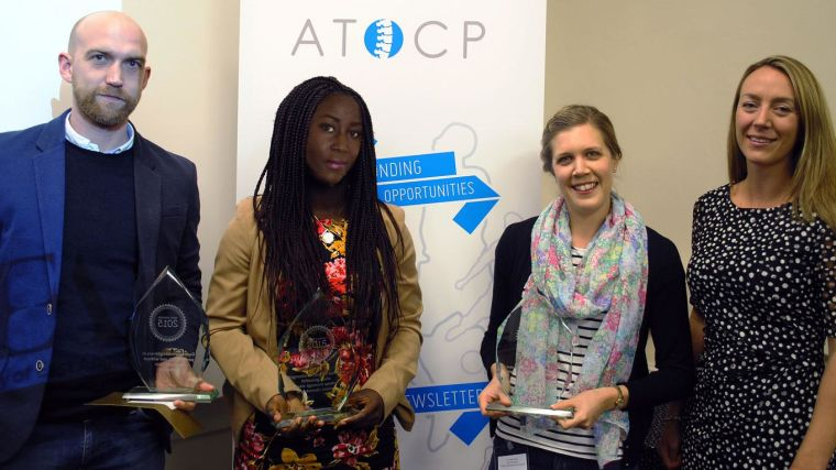 Aocp best research project award for ndorms physiotherapist