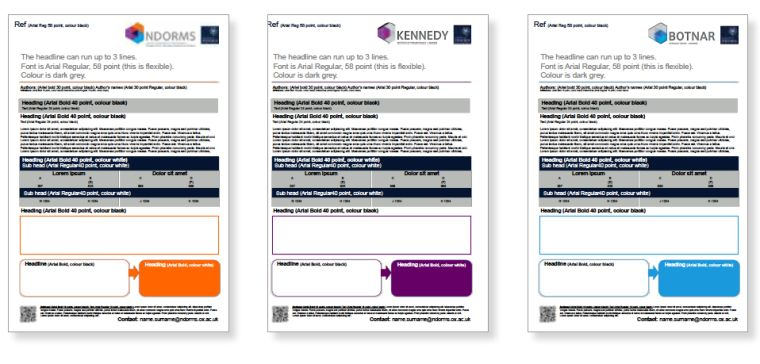 Poster Templates Nuffield Department Of Orthopaedics