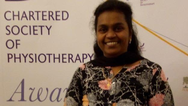 Cynthia srikesavan receives robert williams award