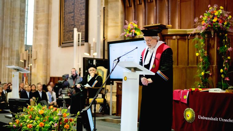 Honorary doctorate for professor doug altman