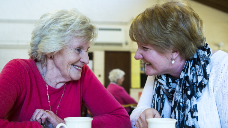 Offering carers of people with dementia easily accessible support