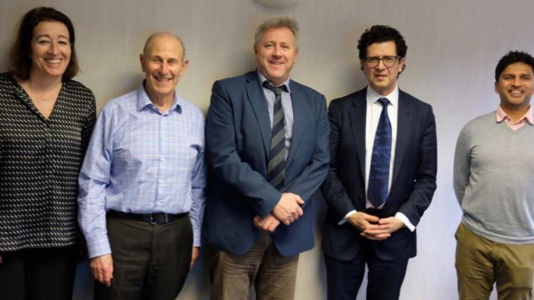 Oxford and partners appoint professor michael douek and professor david beard as the new rosetrees rcs directors of situ