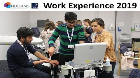 Ndorms work experience 2019