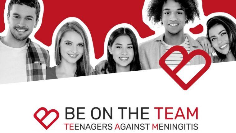 Be on the team teenagers against meningitis