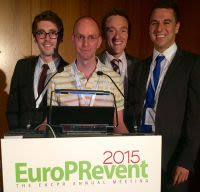 Researchers from Cardiovascular Medicine reach the final of the Young Investigator Awards at Europrevent