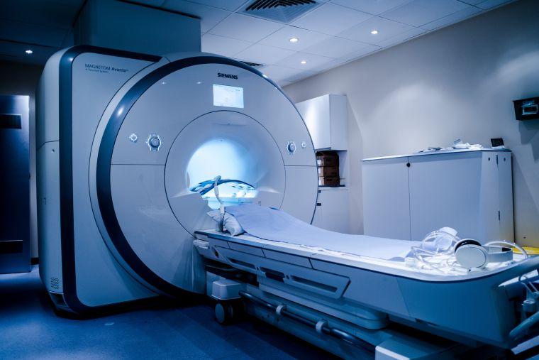 An MRI scanner in OCMR.