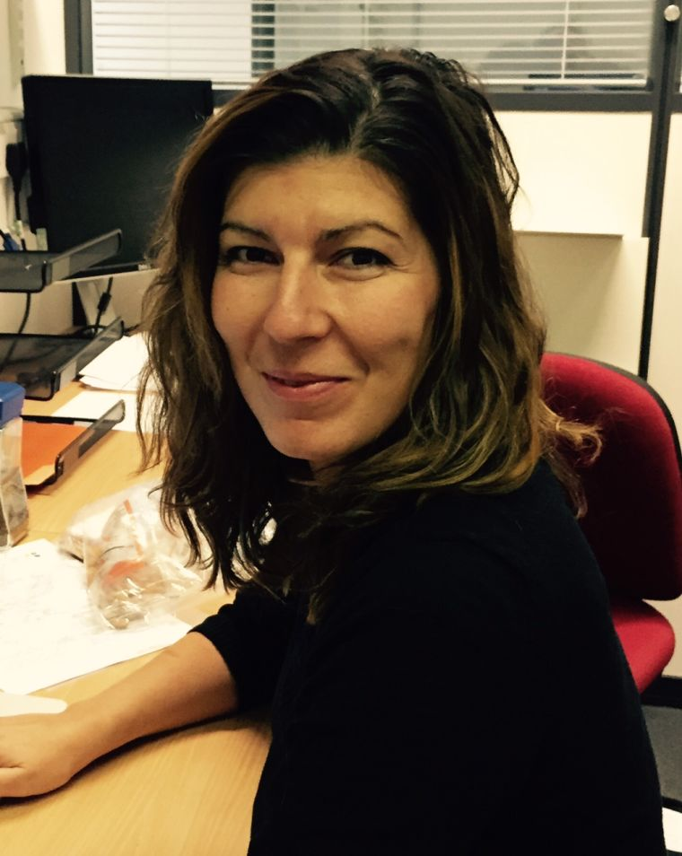 Photo of Dr Ellie Tzima