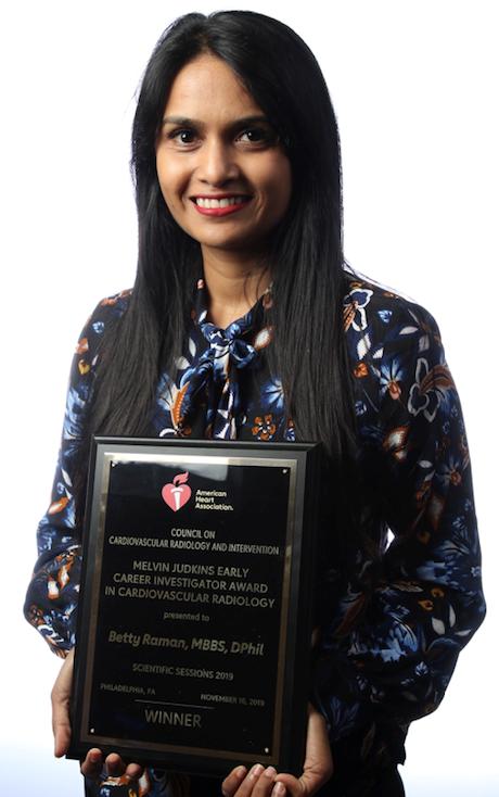 Betty raman award win 3