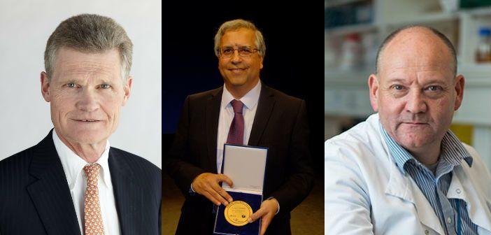 Professor Sir John Bell, Professor Cyrus Cooper and Professor Russell Foster