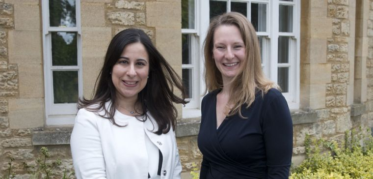 Dr Chrystalina Antoniades and Dr Elizabeth Tunbridge