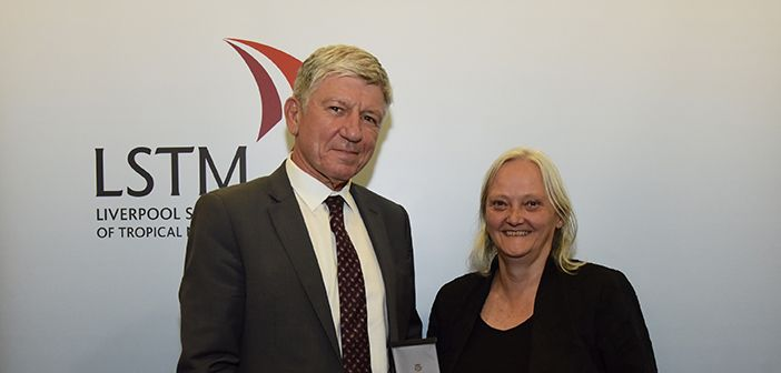 Professor kevin marsh receives lstm2019s mary kingsley medal