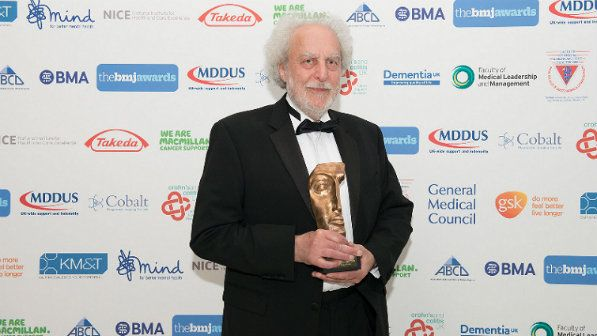 Ndorms professor receives bmj lifetime achievement award