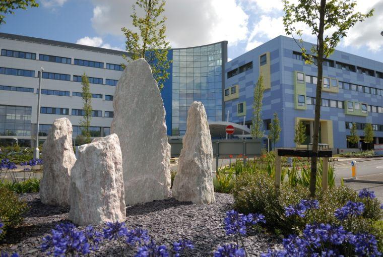 Outside the John Radcliffe Hospital
