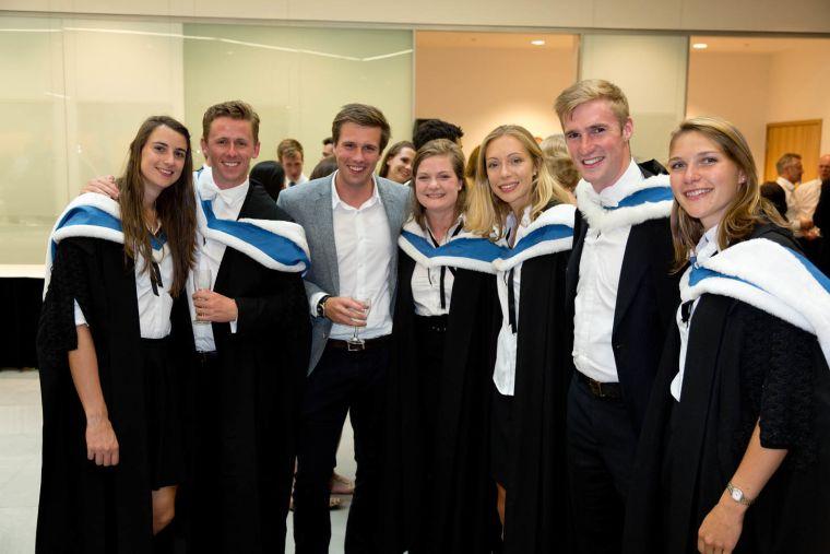 2015 graduation reception