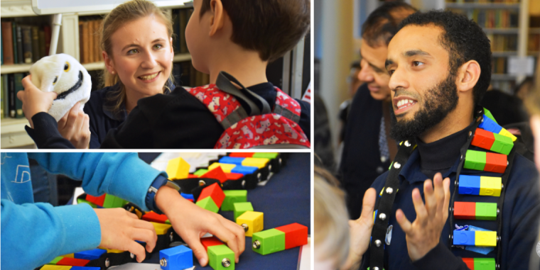 Researchers attend royal institution family fun day