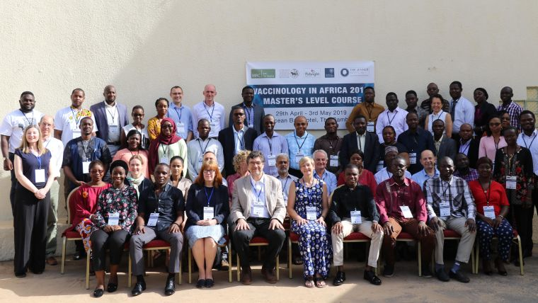 Successful vaccinology in africa course completed in the gambia