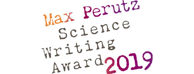 Max perutz science writing award