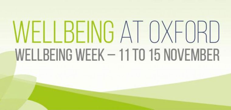 Wellbeing Week – 11 to 15 November