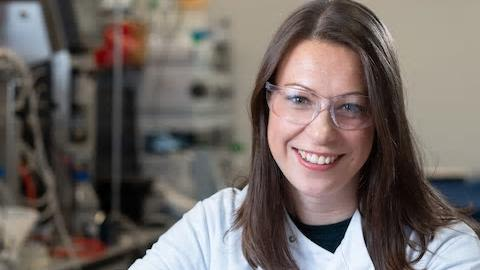 Image of Rachel Tanner who has been awarded the 2019 'Woman of the Future award for Science'