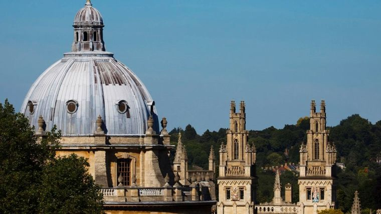 Image of Oxford skyline