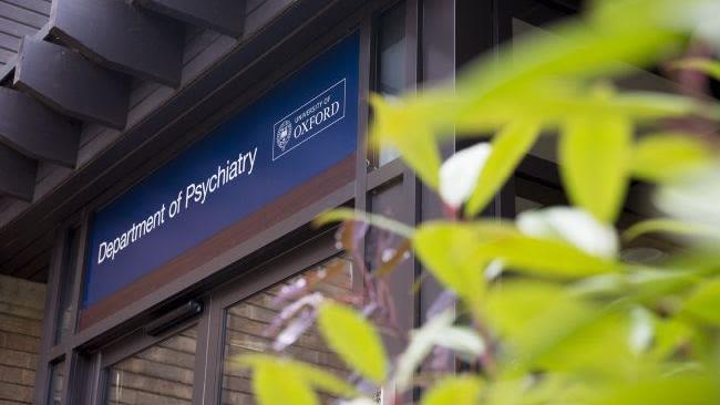 Outsit doors of the Department of Psychiatry
