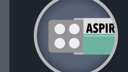 Nejm animation illustrates ascend aspirin trial results