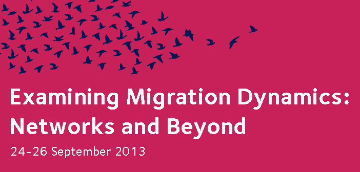 Examining migration dynamics networks and beyond