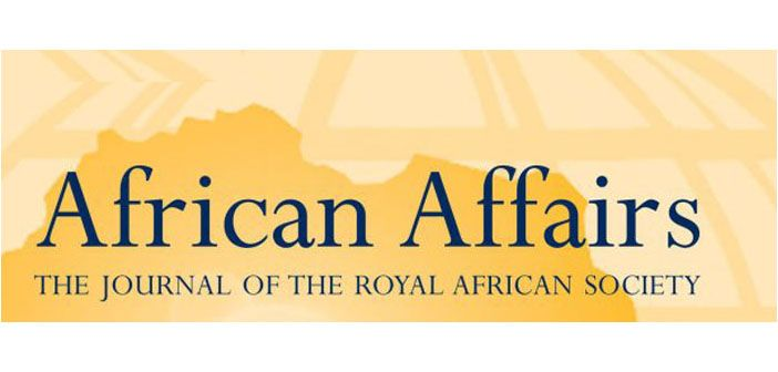 African affairs journal