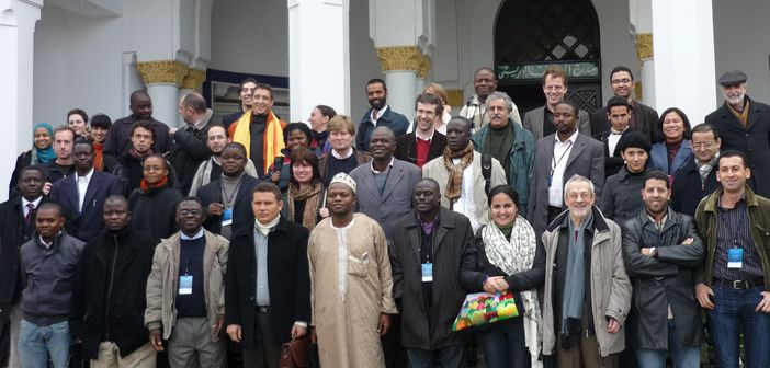Conference participants in Rabat, Morocco