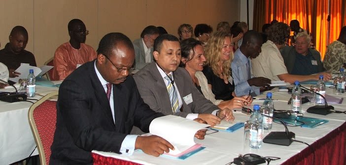 Participants during the Understanding Migration Dynamics in the Continent workshop (Ghana, 2007)