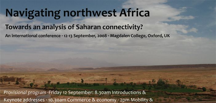 Navigating northwest africa towards an analysis of saharan connectivity