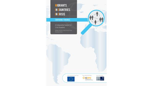 As unga adopts declaration on migrants and refugees new report launched on migrants in countries in crisis