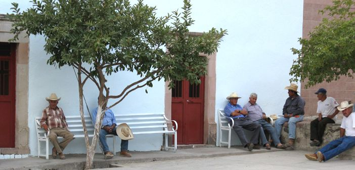 Ageing Mexican village due to youth emigration