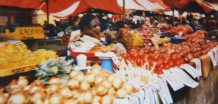 'Comparing food in Lubumbashi', taken by PhotoVoice participant