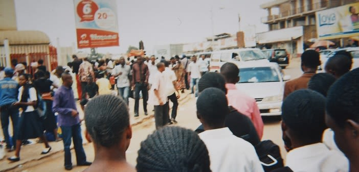 'People who fled are discriminated against' in Lubumbashi, taken by PhotoVoice participant