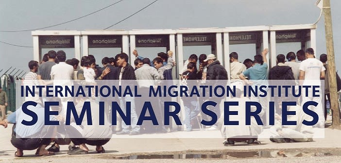 Imi seminar series on migration and social protection begins 14 october