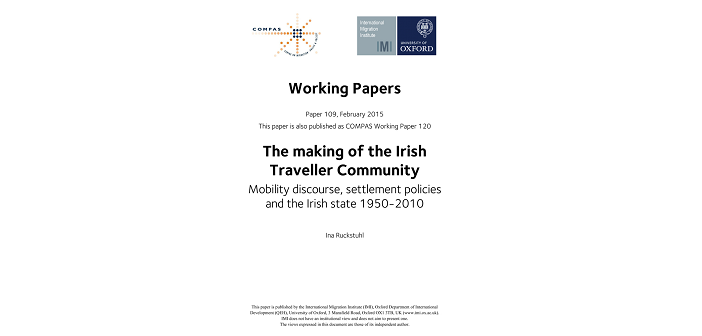 Mobility as a cultural tradition in ireland