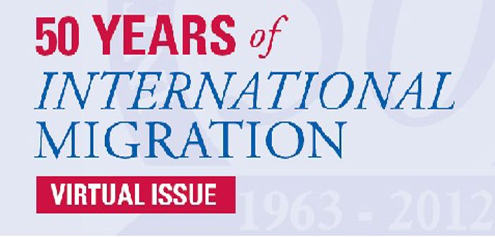 Free online 50th anniversary issue of international migration