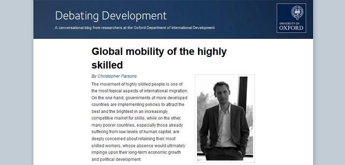 Global mobility of the highly skilled