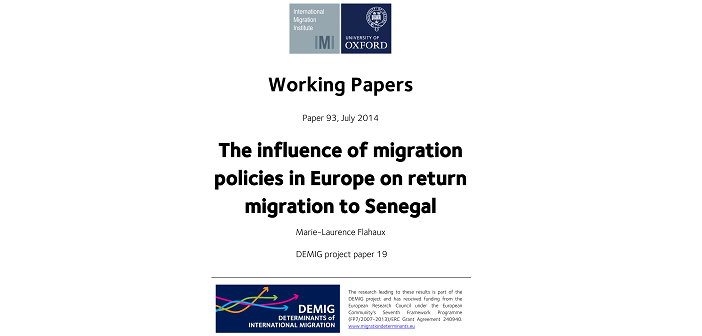 Can policy stop migrants returning home